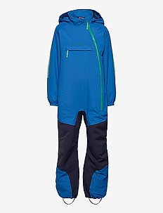 Lilletind Ins Kids Coverall - vinterdress - strongblue/navy/greenlake