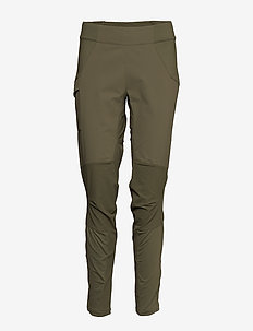 Flyen W Pnt - outdoor pants - greenmud