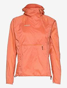 Flyen W Anorak - training jackets - cantaloupe