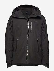 Stranda Ins Hybrid Jkt - insulated jackets - black/solidcharcoal