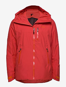 Stranda Ins Hybrid Jkt - outdoor & rain jackets - lava/br magma