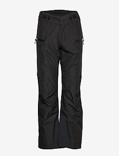 Stranda Ins W Pnt - insulated pants - black/solidcharcoal