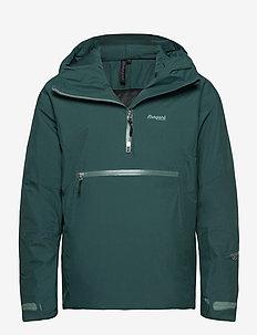 Stranda Ins Hybrid Anorak - sports jackets - forestfrost