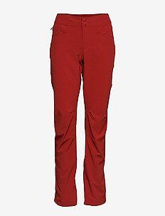 Cecilie Flex Pnt - outdoor pants - dahliared mel