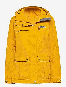 Nordmarka W Jkt - wandel- en regenjassen - mustard yellow camo
