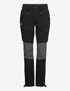 Nordmarka Hybrid W Pnt - spodnie turystyczne - black / solid dark grey