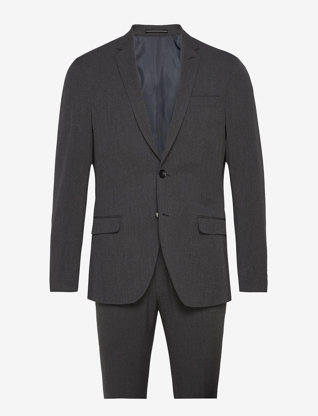 Bertoni - Suit Andersen-Jepsen - single breasted suits - 968 slate - 0