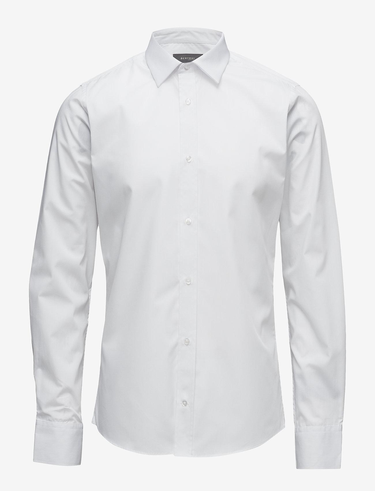 Bertoni - Gustav - chemises basiques - 103 white - 0