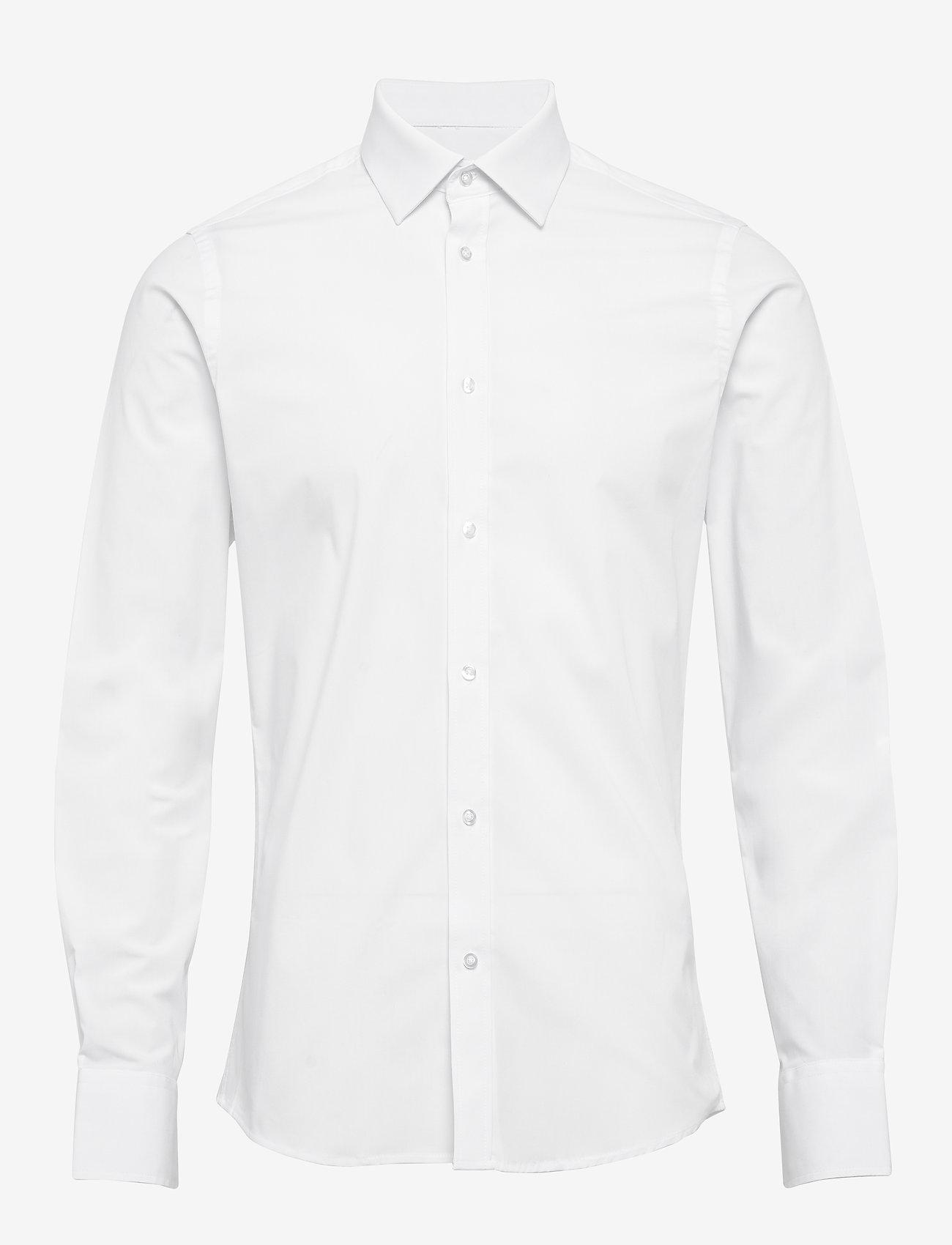 Bertoni - Gustav - basic skjortor - 103 white - 0