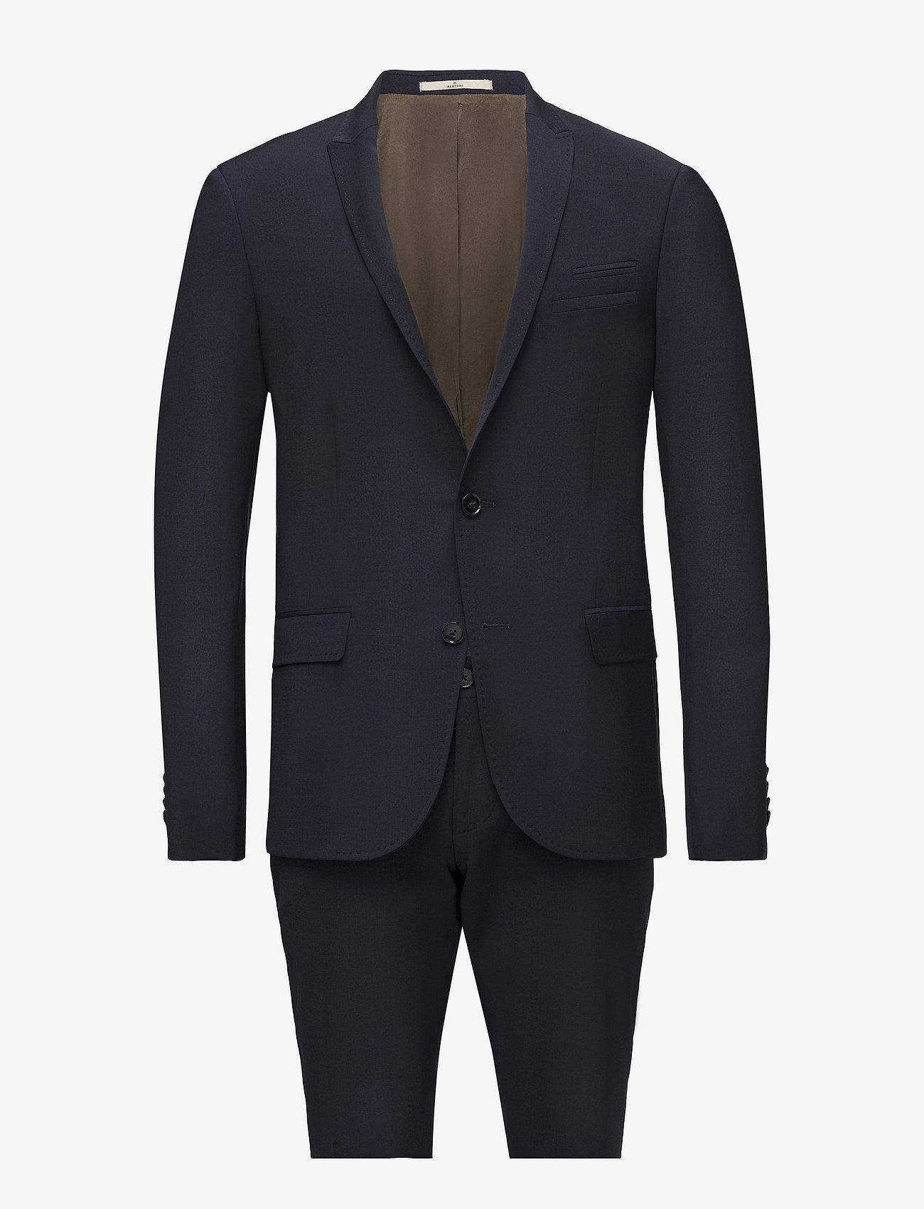 Bertoni - Davidsen-Ravn - single breasted suits - 744 blueprint - 0