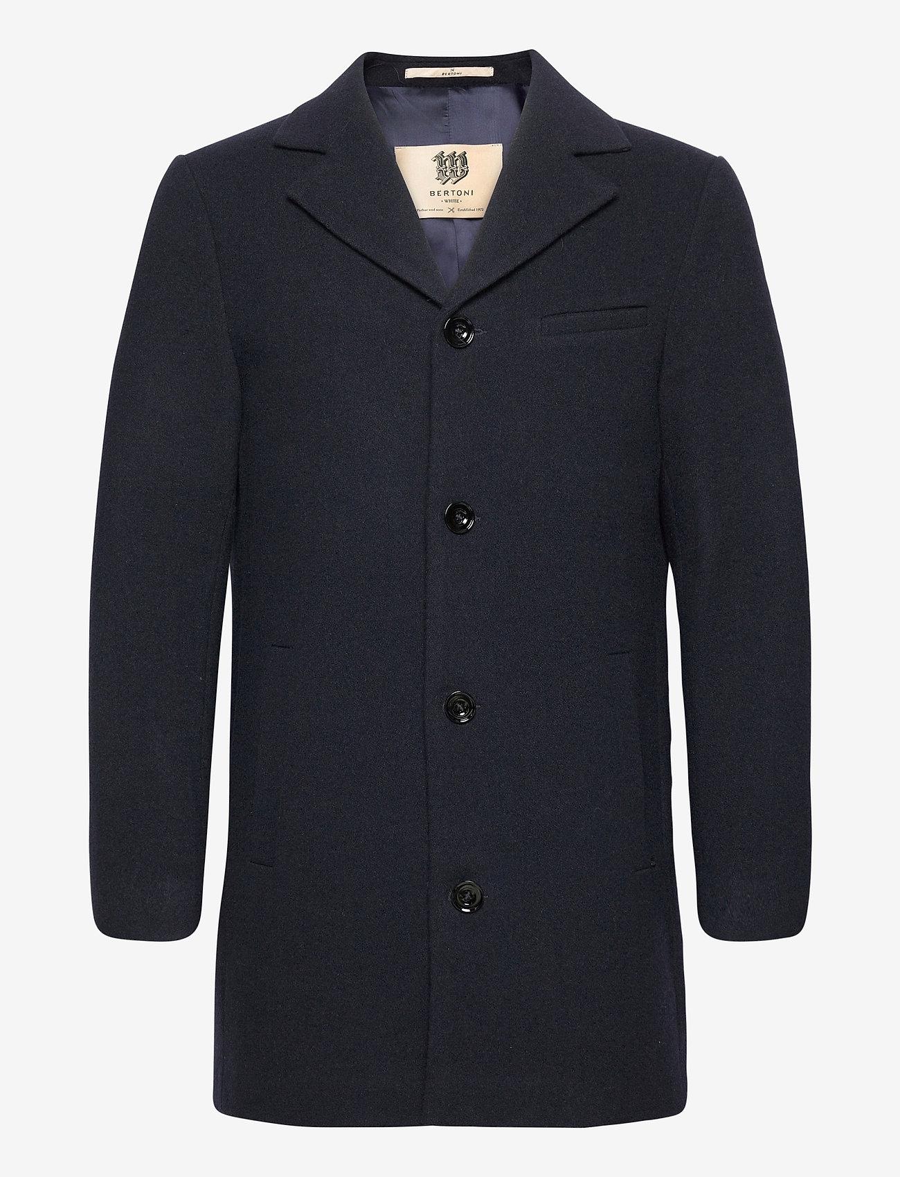 Bertoni - Brande - ullrockar - 740 dress blue - 0