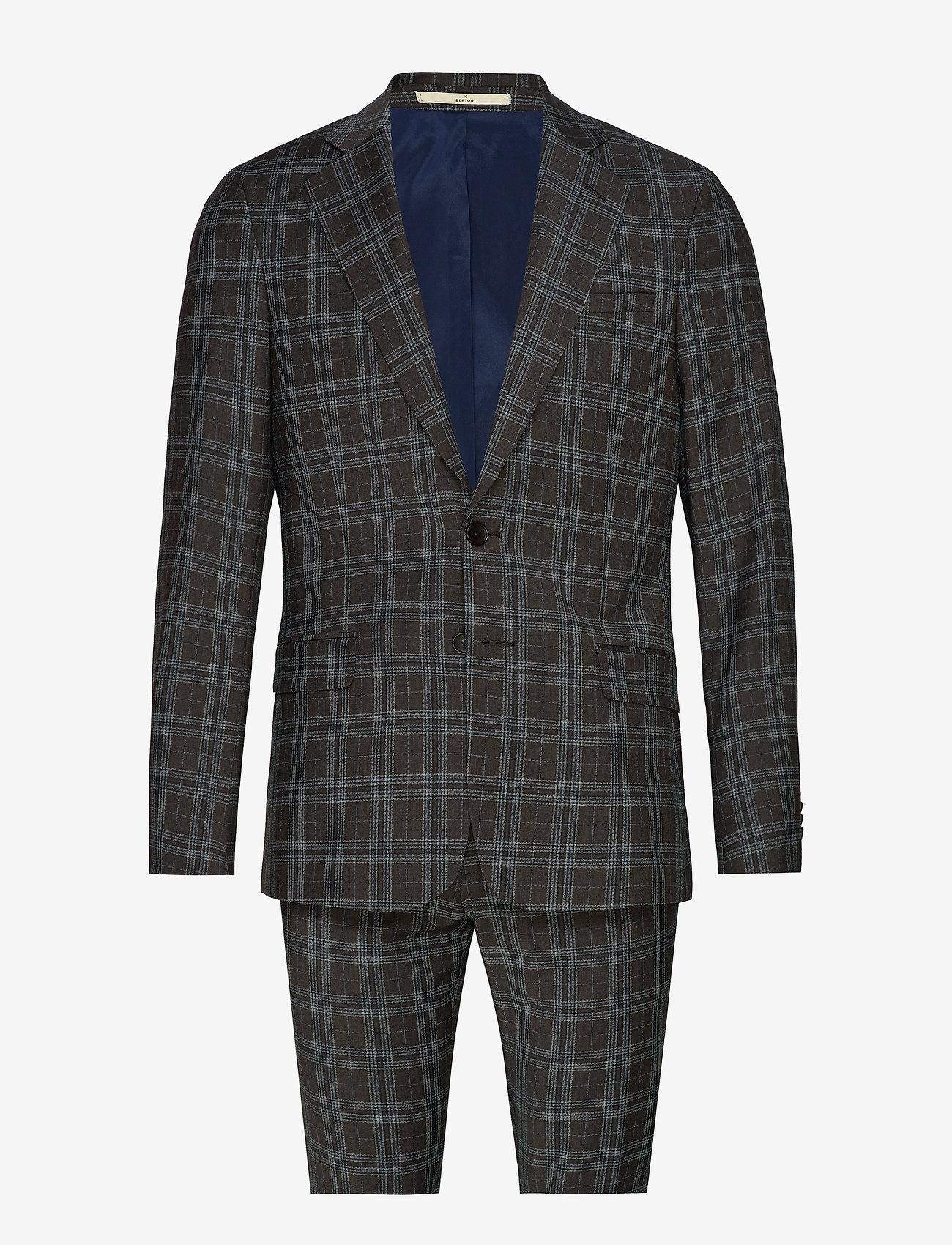 Bertoni - Ludvigsen-Ravn - single breasted suits - 870 mustang - 0