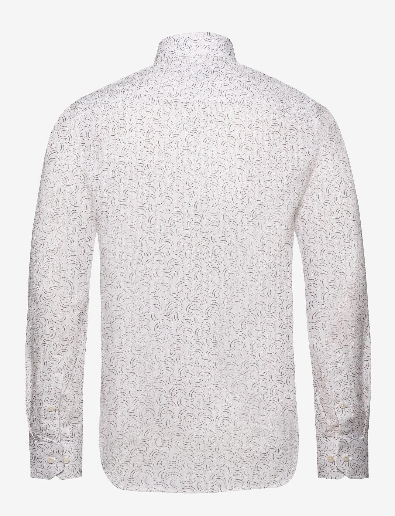 Bertoni - Gustav - business skjortor - 825 warm sand - 1