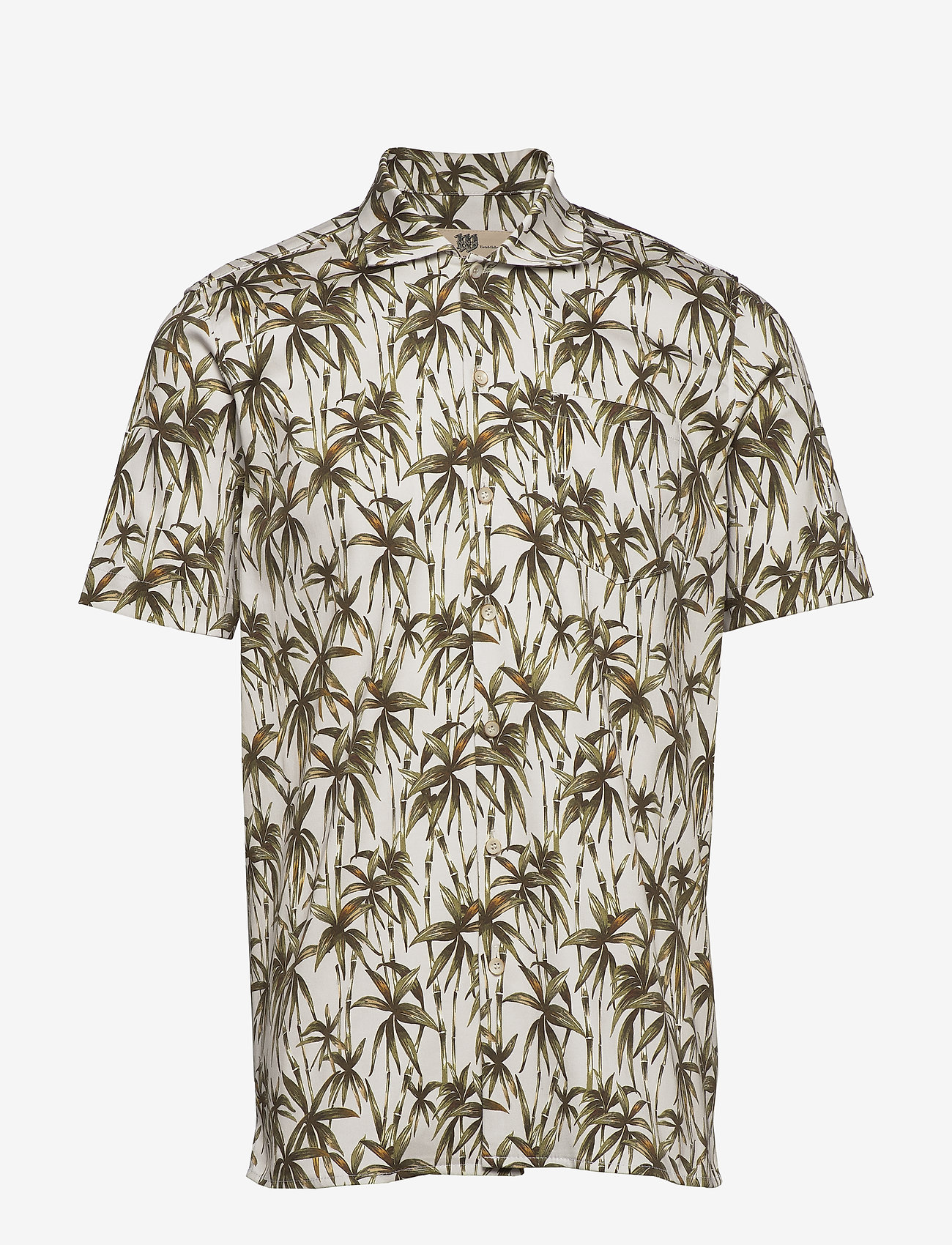 Bertoni - Jim - kortärmade skjortor - 103 white - 0