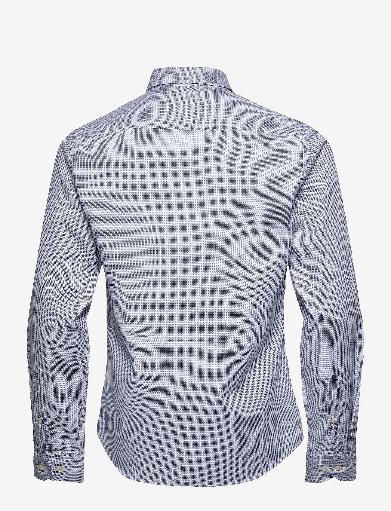 Bertoni - Dennis - business skjortor - 740 dress blue - 1