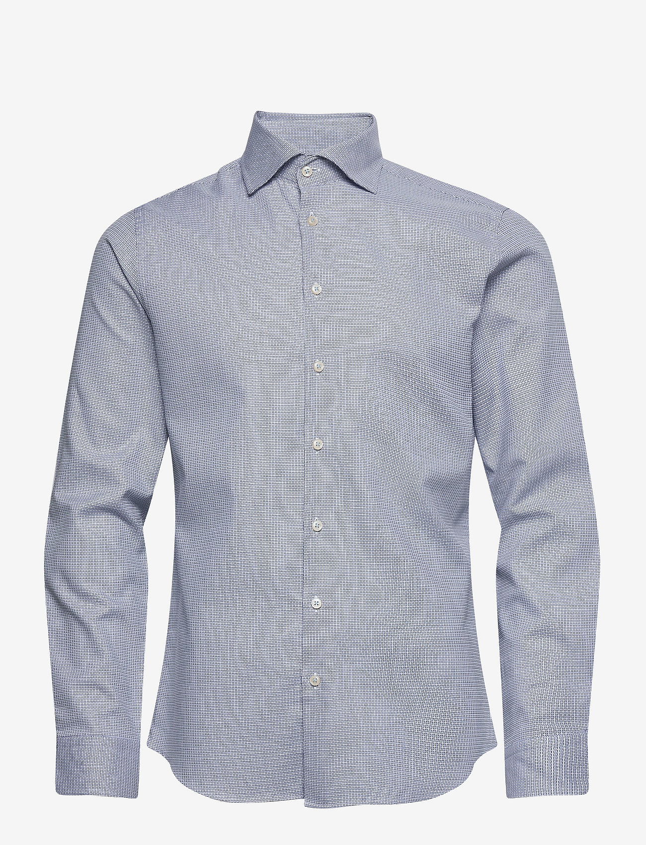 Bertoni - Dennis - business skjortor - 740 dress blue - 0