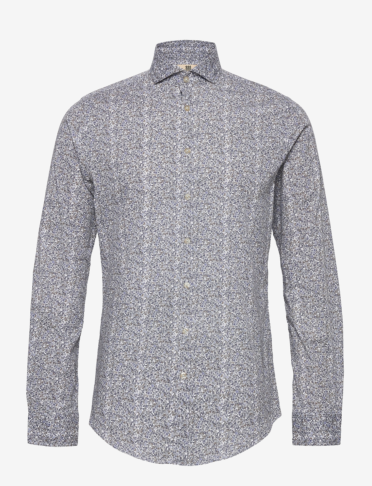 Bertoni - Hjalmar - casual skjortor - 740 dress blue - 0
