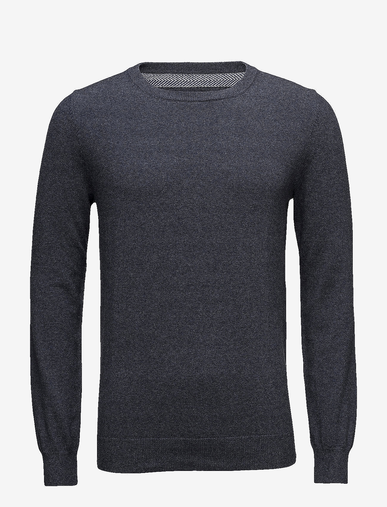 Bertoni - Frederik - basic knitwear - 735 dark denim