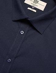 Bertoni - Gustav - basic skjorter - 740 dress blue - 2