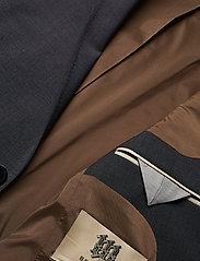 Bertoni - Davidsen-Ravn - enkelknäppta kostymer - 970 gun metal - 4