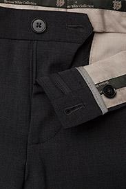 Bertoni - Davidsen-Ravn - enkelknäppta kostymer - 970 gun metal - 6