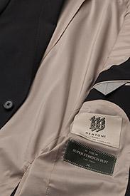 Bertoni - Davidsen-Ravn - enkelknäppta kostymer - 997 jet black - 8