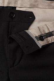 Bertoni - Davidsen-Ravn - enkelknäppta kostymer - 997 jet black - 10