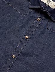 Bertoni - Robin - chemises basiques - 715 dusty blue - 2