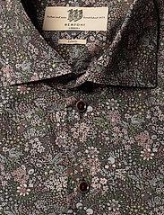 Bertoni - Dennis - business skjortor - 295 black berry - 2
