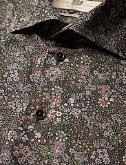 Bertoni - Dennis - business skjortor - 295 black berry - 3