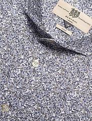 Bertoni - Hjalmar - casual skjortor - 740 dress blue - 3