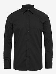 Bertoni - Gustav - basic skjorter - 997 jet black - 0