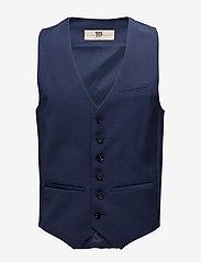 Bertoni - Torkildsen - waistcoats - 740 dress blue - 0