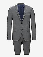 Bertoni - Davidsen-Ravn - enkelknäppta kostymer - 950 stone - 0