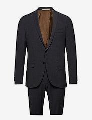 Bertoni - Davidsen-Ravn - single breasted suits - 970 gun metal - 0