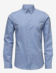 Bertoni - Tobias - business skjortor - 705 little boy blue - 0