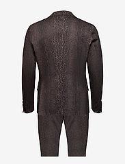 Bertoni - Lorentzen - Ravn - enkelknäppta kostymer - 890 coffee bean - 1