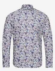Bertoni - Hjalmar - chemises basiques - 250 plum - 0