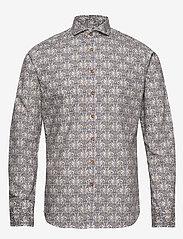 Bertoni - Hjalmar - basic skjorter - 250 plum - 0
