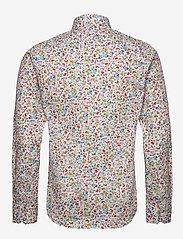 Bertoni - Gustav - casual skjortor - 633 aqua gray - 1