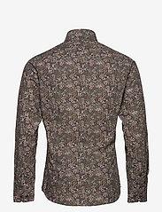 Bertoni - Dennis - business skjortor - 295 black berry - 1