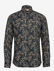 Bertoni - Hjalmar - casual skjortor - 769 deep teal - 0