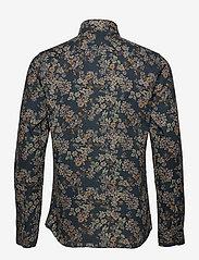 Bertoni - Hjalmar - casual skjortor - 769 deep teal - 1