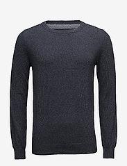 Bertoni - Frederik - basic knitwear - 735 dark denim - 0
