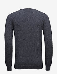 Bertoni - Frederik - basic knitwear - 735 dark denim - 2