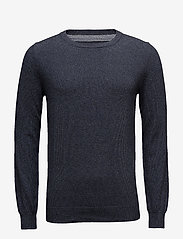 Bertoni - Frederik - basic knitwear - 735 dark denim - 1