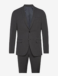 Suit Andersen-Jepsen - costumes simple boutonnage - 968 slate