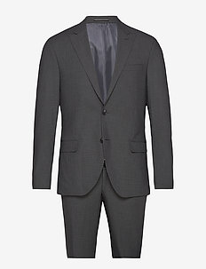 Suit Drejer-Jepsen - single breasted suits - 980 anthracite