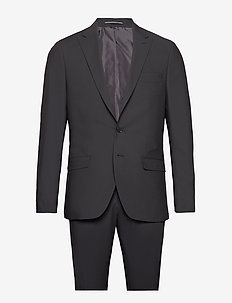 Suit Drejer-Jepsen - costumes simple boutonnage - 999 black