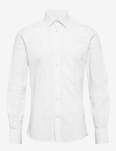 Gustav - basic shirts - 103 white